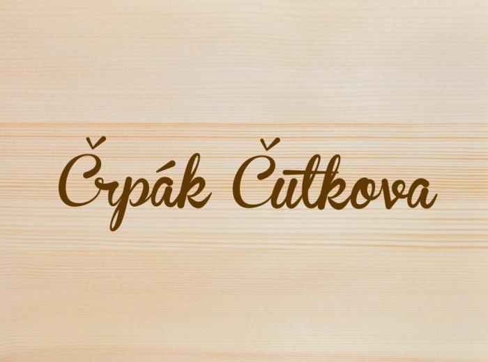 Črpák Čutkova 2017