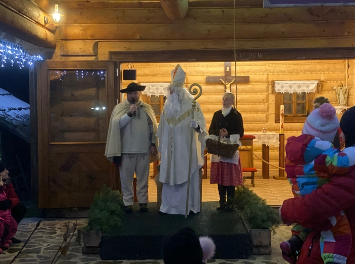 Mikuláš v Čutkovskej doline
